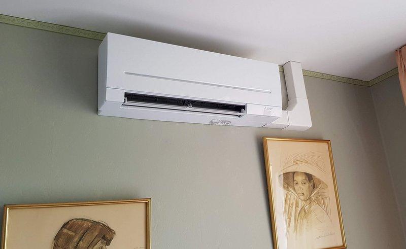 Climatiseur réversible pour une chambre